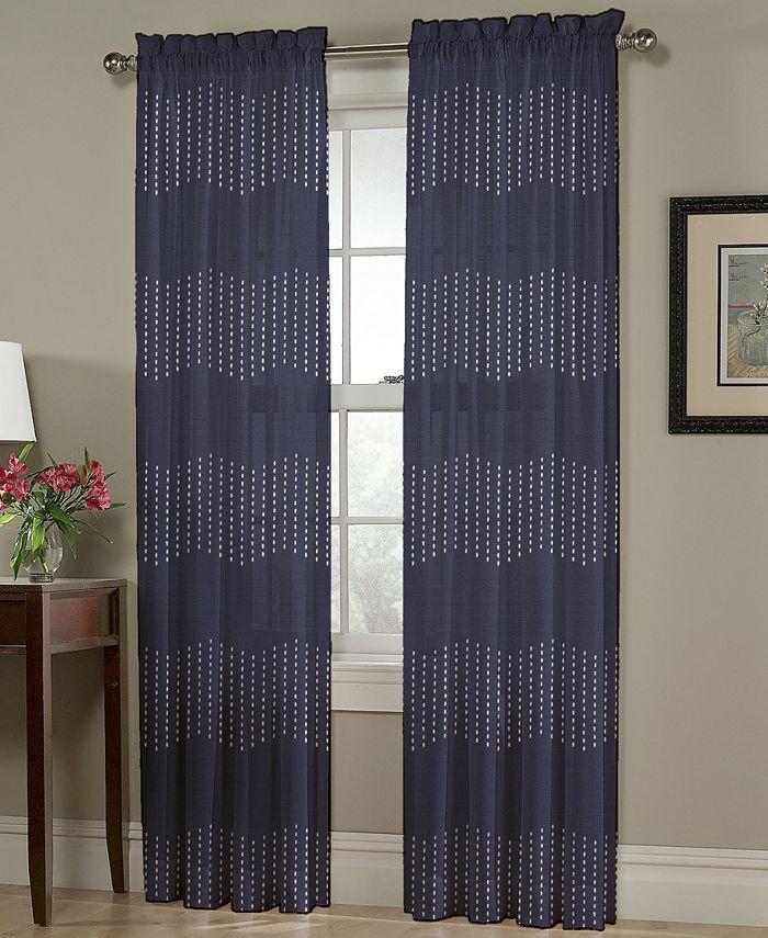 "Homewear - Chevron Pick-Stitch 54"" x 63"" Panel"