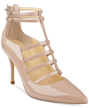 Ivanka Trump Domin Caged Pointed-Toe Pumps Women's Shoes