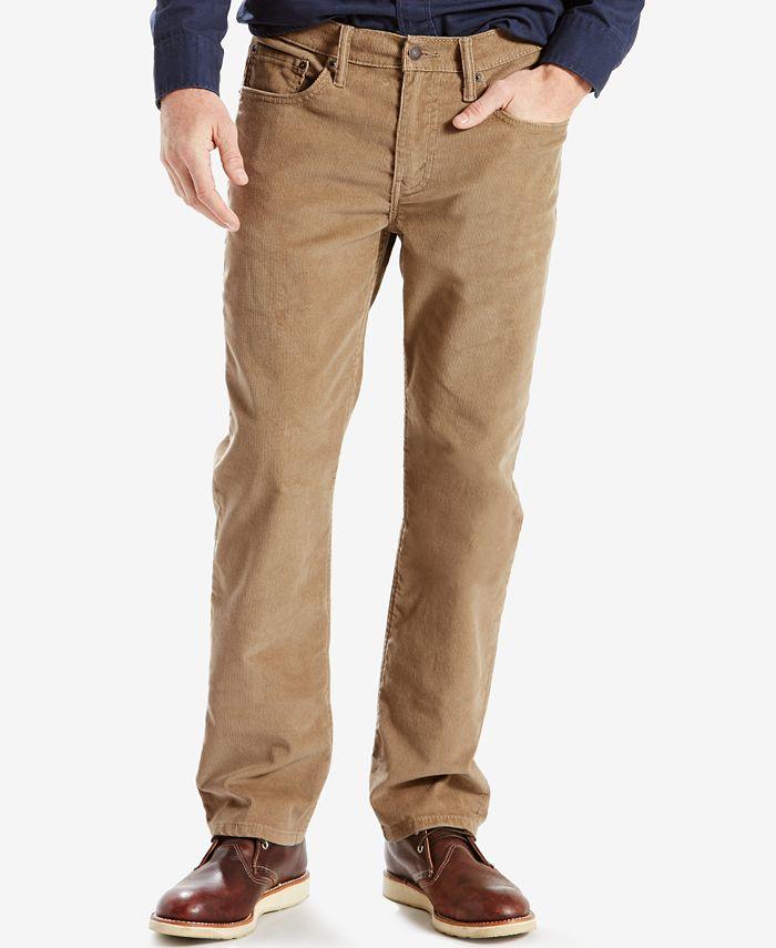 Levi's - 514™ Straight Fit Bedford Corduroy Pants