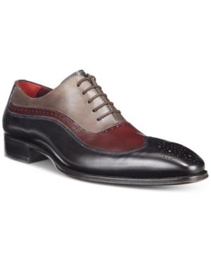 Mezlan Men's Capua Multi-Color Wingtip Oxfords Men's Shoes