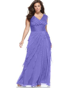evening gown, beautiful dress, Curvy lady