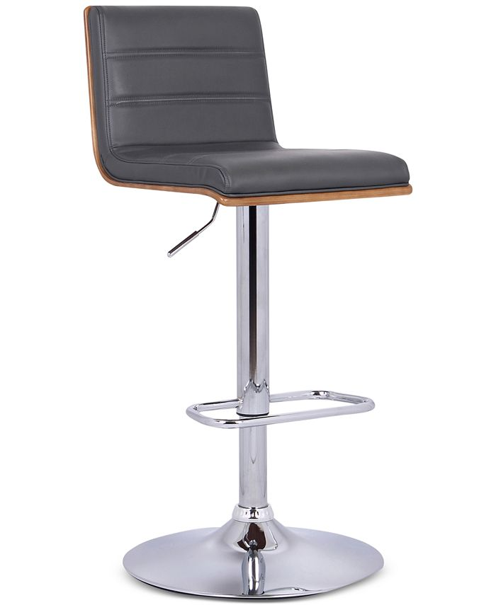 Armen Living - Aubrey Barstool Brushed Stainless Steel, Direct Ship