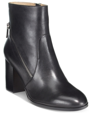 Adrienne Vittadini Bob Side-Zipper Ankle Booties Women's Shoes
