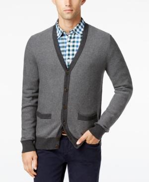 Men's Vintage Style Sweaters – 1920s to 1960s Tommy Hilfiger Mens Tobin Cardigan $79.50 AT vintagedancer.com