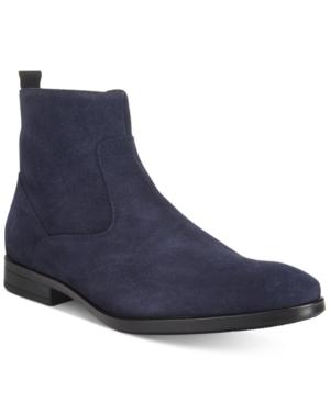 Kenneth Cole Reaction Men's At Lash Plain-Toe Suede Boots Men's Shoes