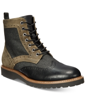 Guess Men's Frederick Brogue Boot Men's Shoes