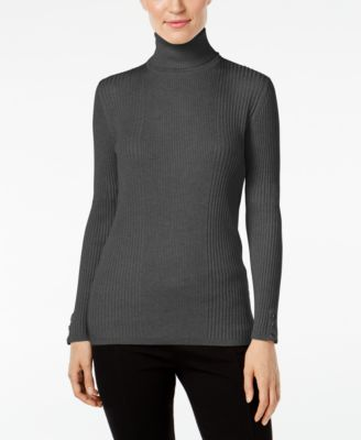 Image of Style & Co. Turtleneck Sweater, Only at Macy's