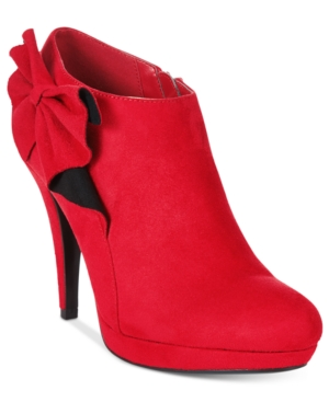 Impo Portia Bow Booties Women's Shoes