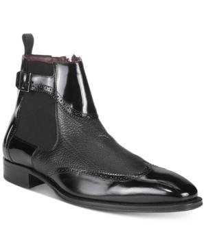 Mezlan Men's Moulins Wingtip Chelsea Boots Men's Shoes
