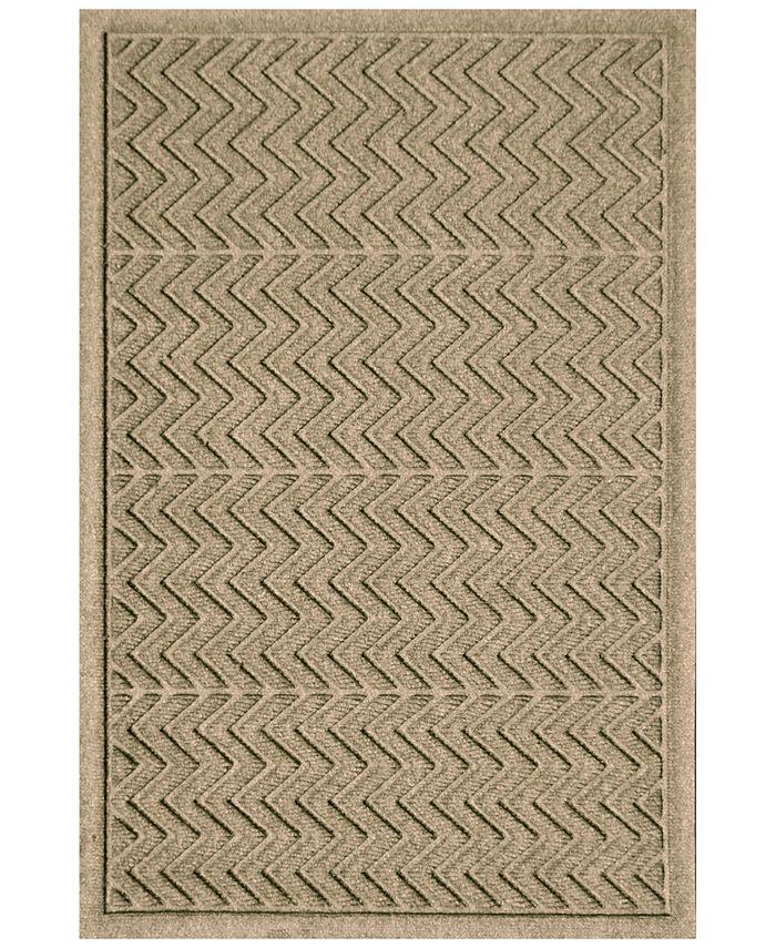 Bungalow Flooring - Water Guard Chevron 3'x5' Doormat