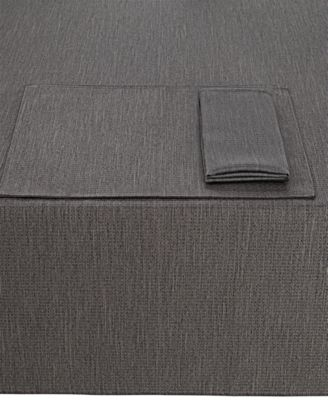"Colorwave Graphite Collection 60"" x 84"" Tablecloth"