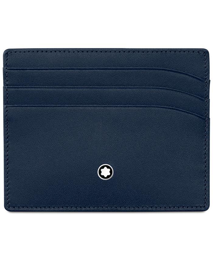 Montblanc - Meisterstück Navy Leather 6 Pocket Holder 114557