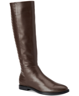 Calvin Klein Donnily Riding Boots Women's Shoes