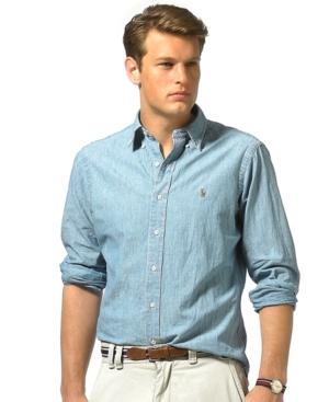 Polo Ralph Lauren Shirt, Classic Fit Denim