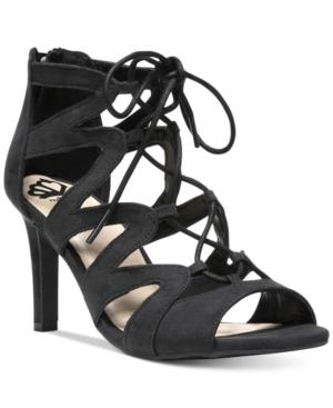 Fergalicious Heart Throb Lace-Up Dress Sandals Women's Shoes