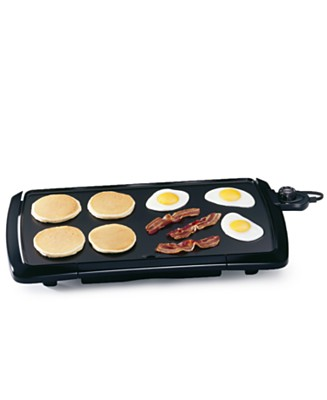 Macy's - Presto 07030 Jumbo Cool Touch  Griddle - $19.99