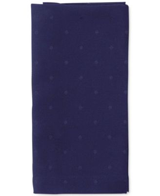 kate spade new york Larabee Dot Navy Napkin