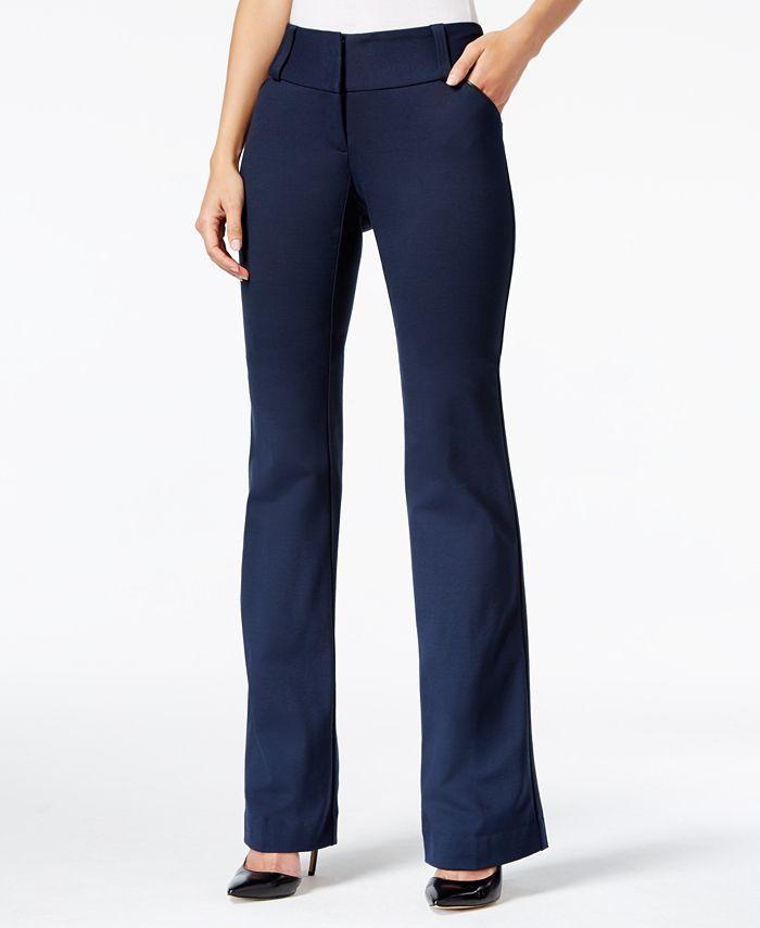 Alfani - Straight-Leg Trousers