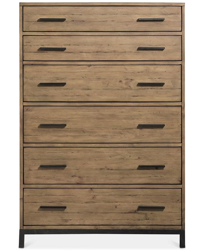Furniture Gatlin 6 Drawer Chest Created For Macy S Reviews Furniture Macy S