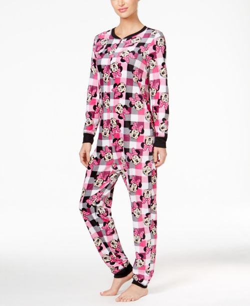 Minnie Mouse Plaid Jumpsuit