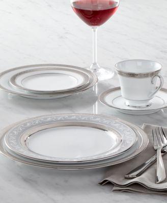 Dinnerware, Crestwood Platinum Gravy Boat with Stand