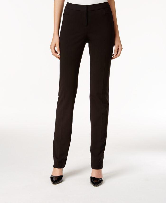 Alfani - Petite Straight-Leg Pants
