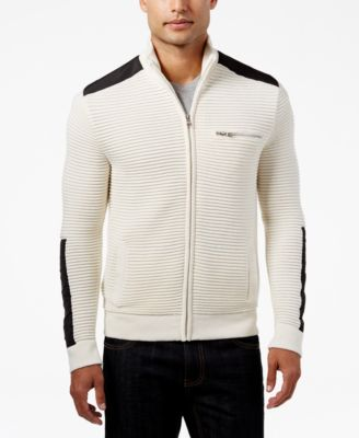 Image of INC International Concepts Men's Hale Ottoman Sweater-Jacket, Only at Macy's