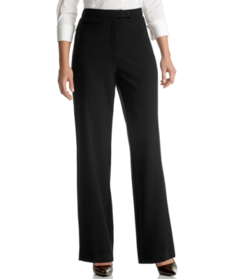 JM Collection Petite Pants, Tummy Control Boot Cut