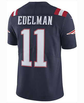 Nike Men's Julian Edelman New England Patriots Limited Color Rush ...