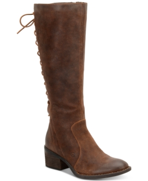Born Azurite Tall Boots Women's Shoes