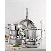 Cuisinart Pro Tri-Ply Stainless Steel 12 Piece Cookware Set Deals