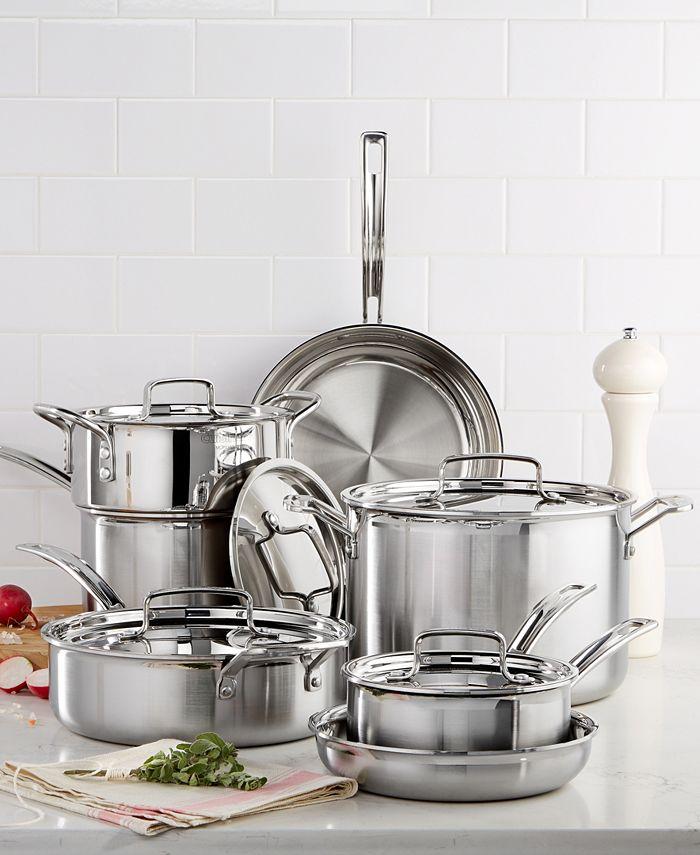 Cuisinart - Multiclad Pro Stainless 12-Piece Cookware Set