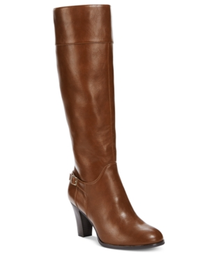 Giani Bernini Boelyn Tall Wide Calf Riding Boots, Only at Macy's Women's Shoes