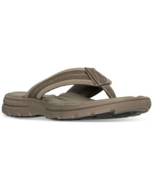 Skechers Men's Bravelen-Seleno Slide Sandals from Finish Line
