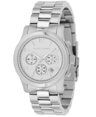 Michael Kors Watch Womens Chronograph Runway Stainless Steel Bracelet 38mm MK5076