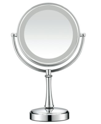 Conair,  7x Magnified Polished Chrome Lighted Makeup Mirror