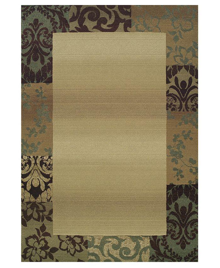 """Oriental Weavers - by  """"Genesis"""" 2060Y Area Rug, 4' x 5' 9"""""""