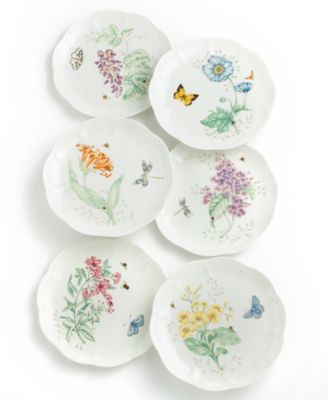 "Lenox ""Butterfly Meadow"" Accent/Salad Plate"