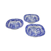 Deals on 3-Pcs Spode Blue Italian Dip Dishes 5-inch