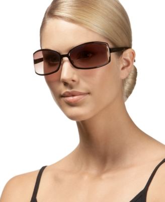 Nine West Rectangular Sunglasses