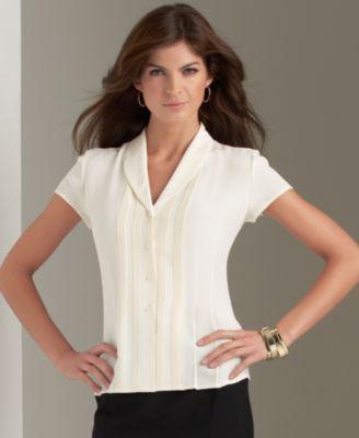 White Silk Blouse Macy'S 67