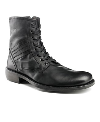 GUESS General Lace Up Boot - Boots 50% Off Shoes - Men's - Macy's from macys.com