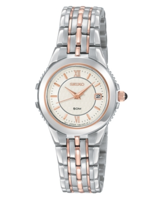 Seiko Watch, Women's Stainless Steel Bracelet SXDB18