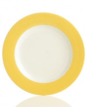 "Noritake ""Colorwave Mustard Rim"" Salad Plate"
