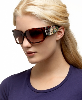 Ed Hardy Geisha and Dragon Sunglasses - Modern Sunglasses