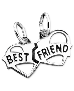 Rembrandt Charms Sterling Silver Best Friends Charm