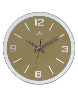 "Infinity Instruments ""The Gazer"" Glass Wall Clock"