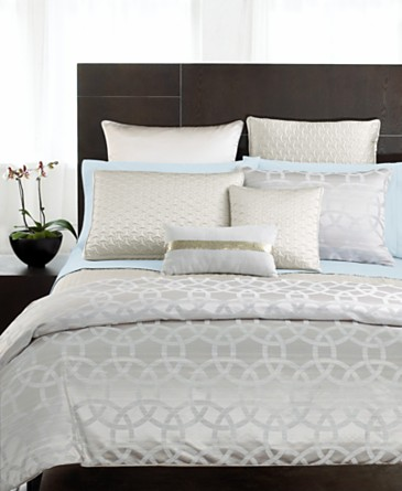 Hotel Collection Bedding, Rings Full/Queen Duvet Cover