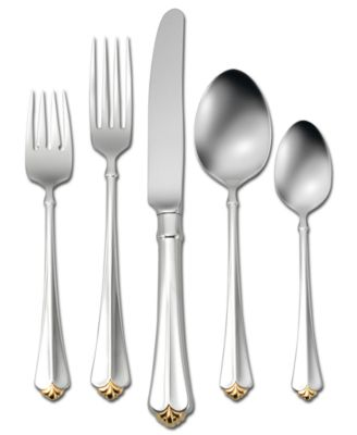 "Oneida ""Golden Juilliard"" 5-Piece Place Setting"