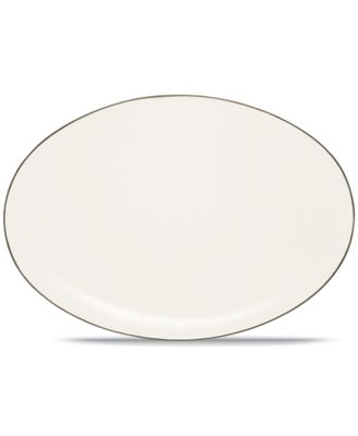 "Noritake ""Colorwave Chocolate"" Oval Platter, 16"""